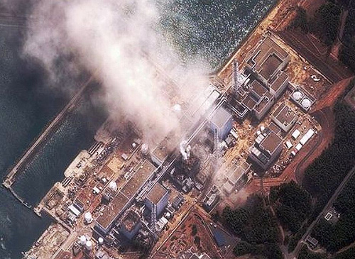 """""""nuclear radiation meltdown at Fukushima"""""""